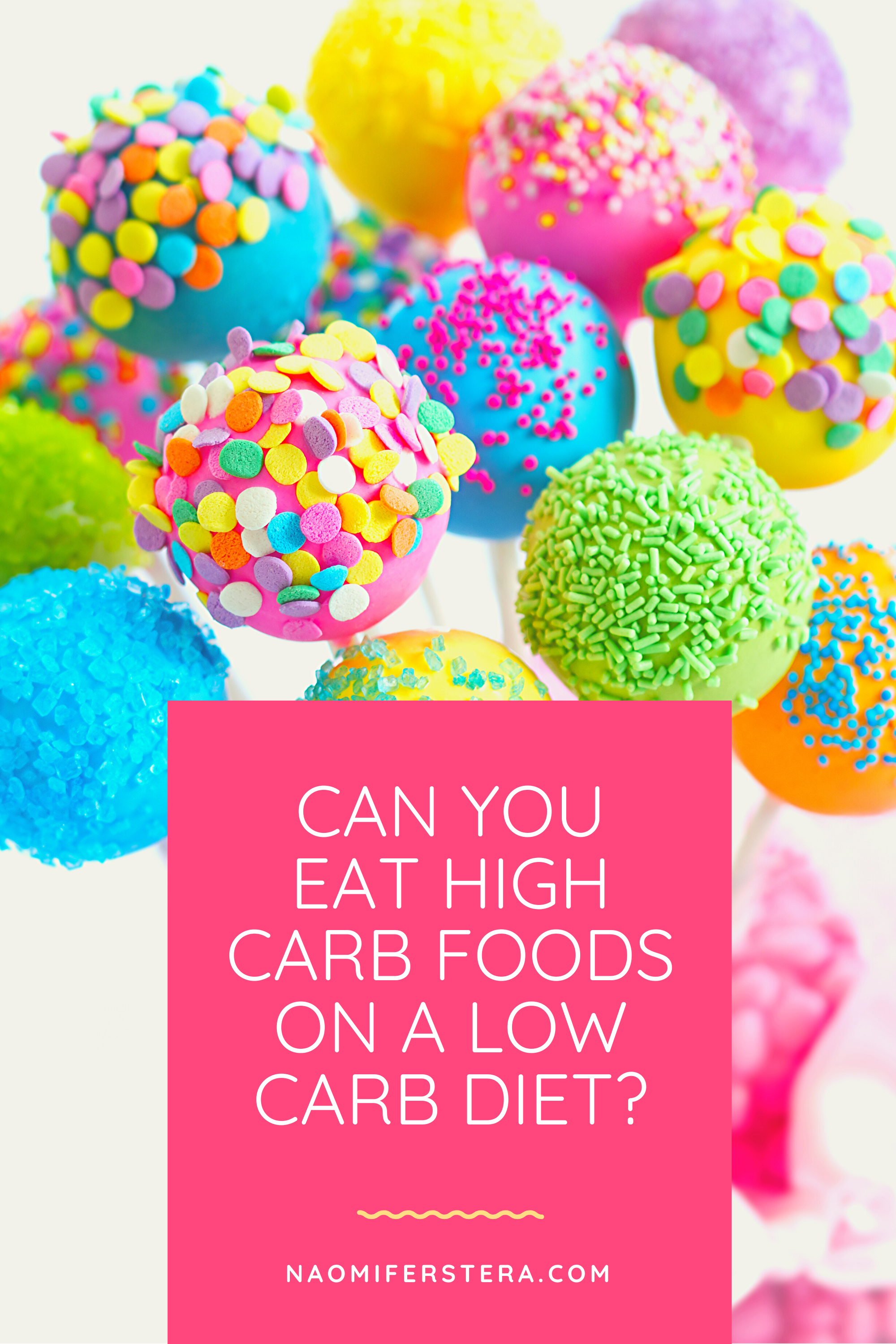 Can you eat high carb foods on a low carb diet?